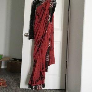 Pakistani/indian saree ✨flash sale✨